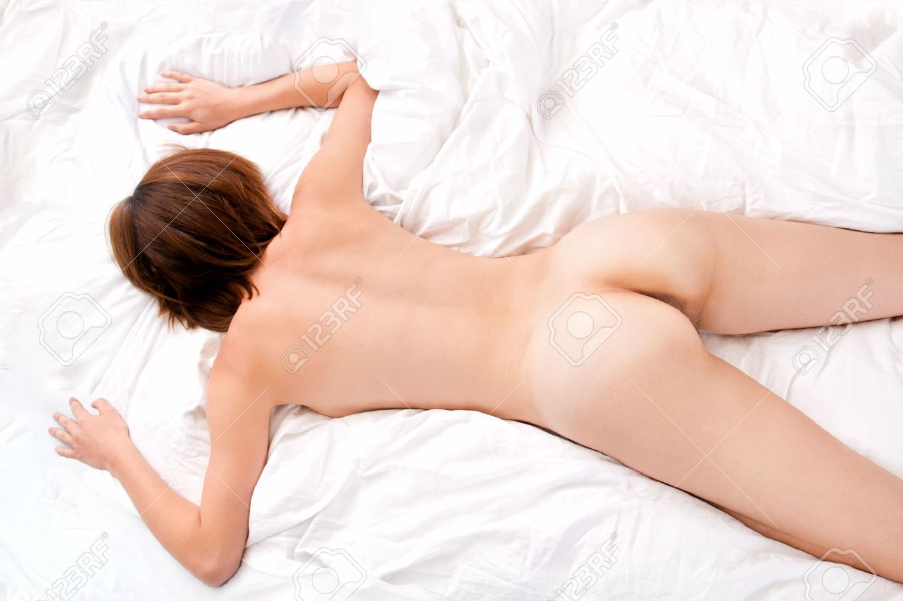 Beautiful nude women bed