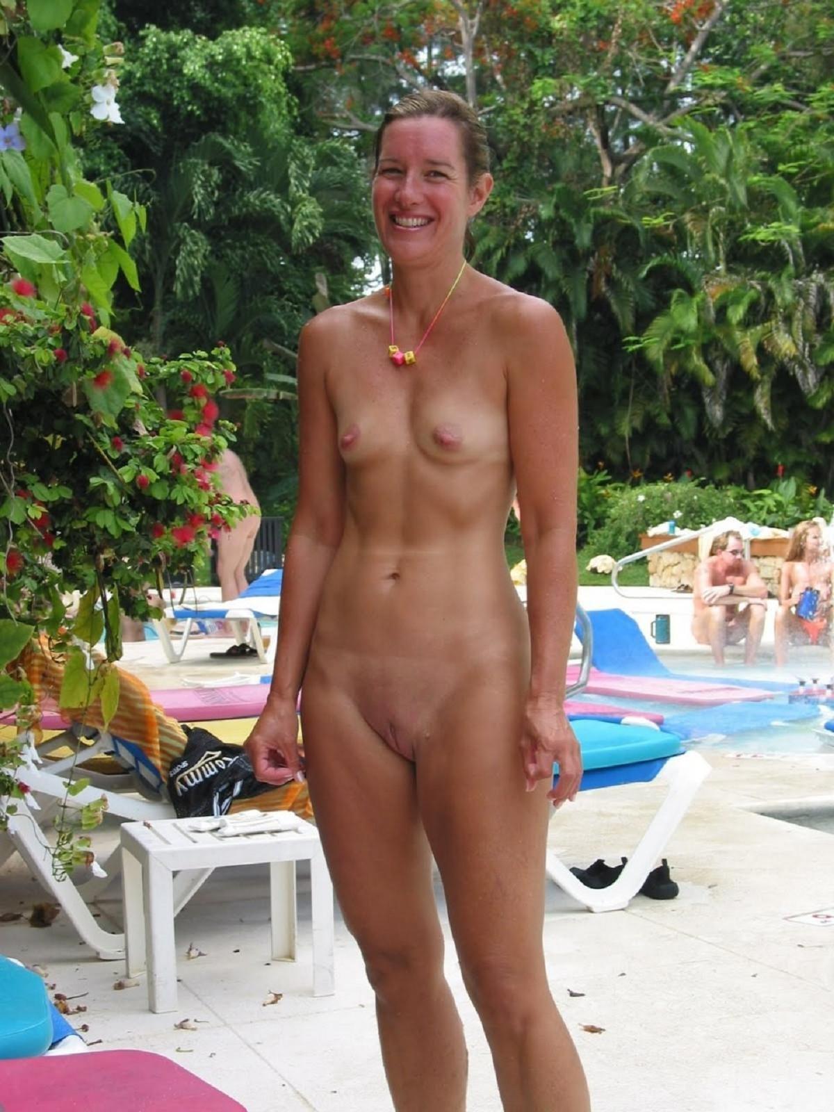 Nude beach voyeur video
