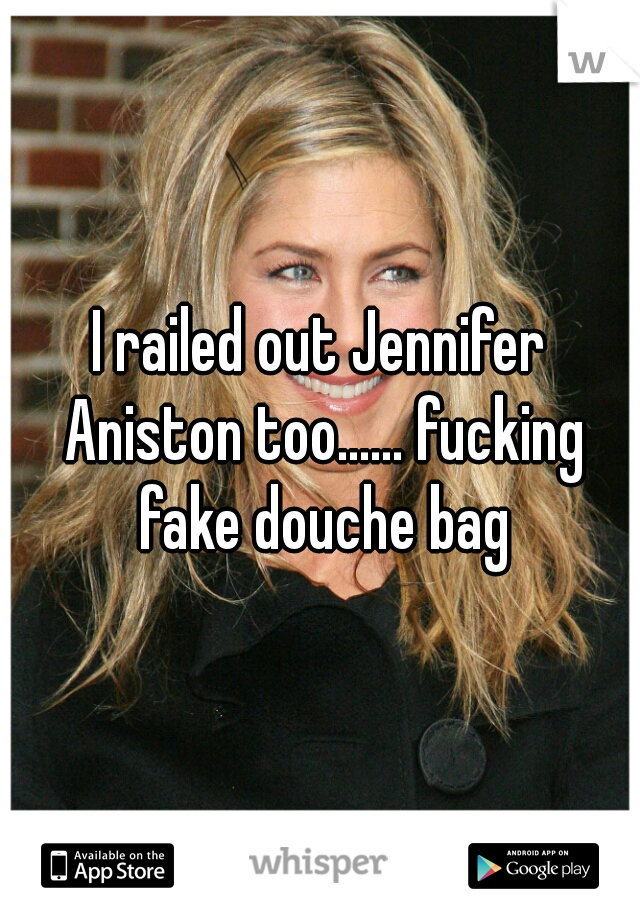 aniston captions Jennifer fake
