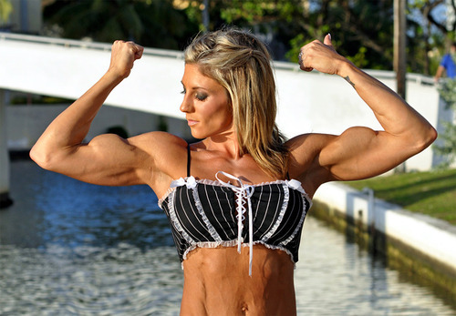 Female bodybuilder abby marie