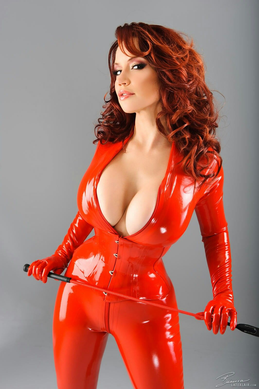 Bianca beauchamp latex mistress