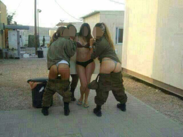 Israeli army girls nude