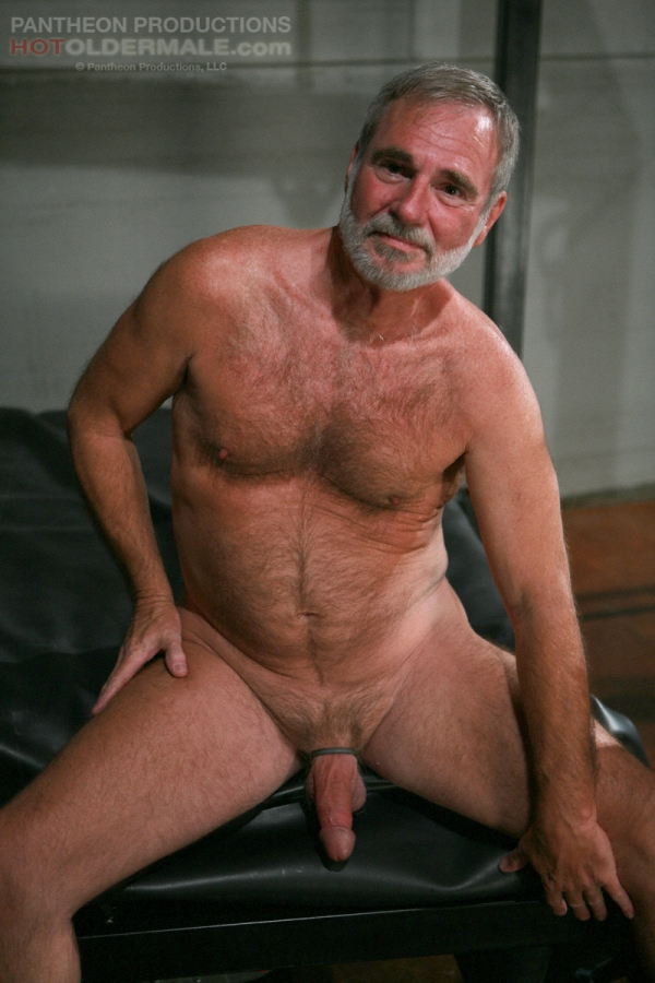 Naked hairy mature men