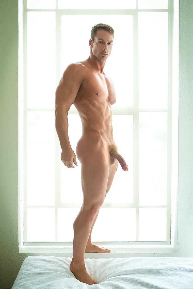 Nude male model penis