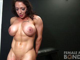 Lesbian bondage orgasms