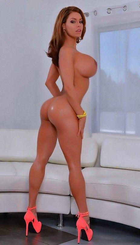 High heels big tits porn stars
