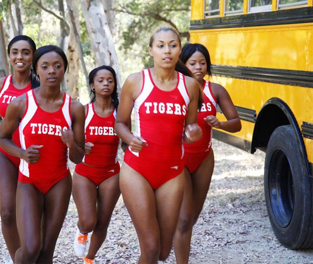Naked black cheerleaders