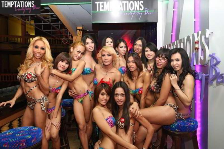 Bangkok ladyboy bar