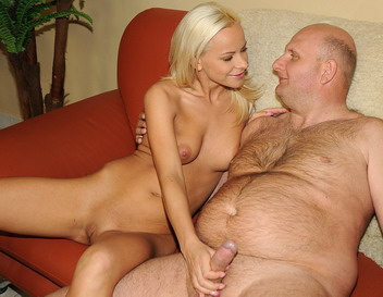 sexy girl geting fuck by old man