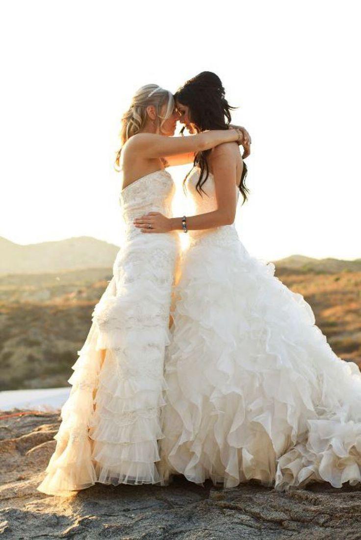 lesbian wedding Sexy
