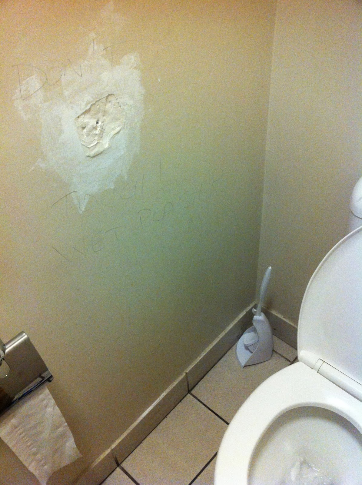 wall Glory hole