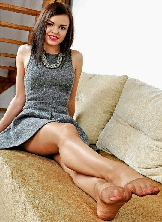Legs in nylons beautiful