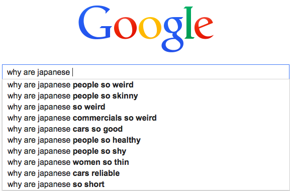 Why are japanese so weird people