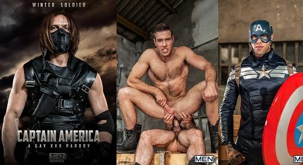 Captain america gay porn