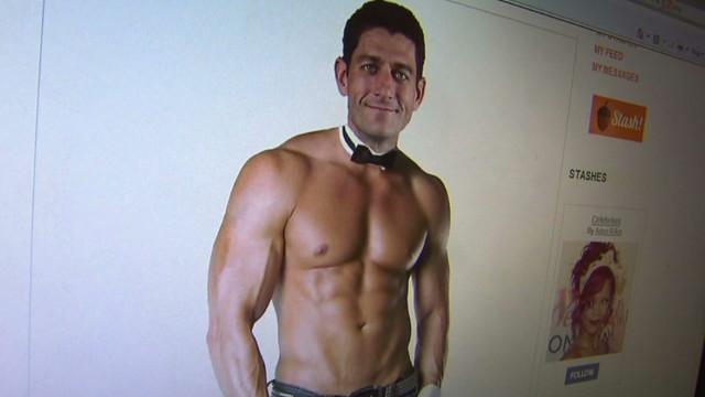 Paul ryan shirtless