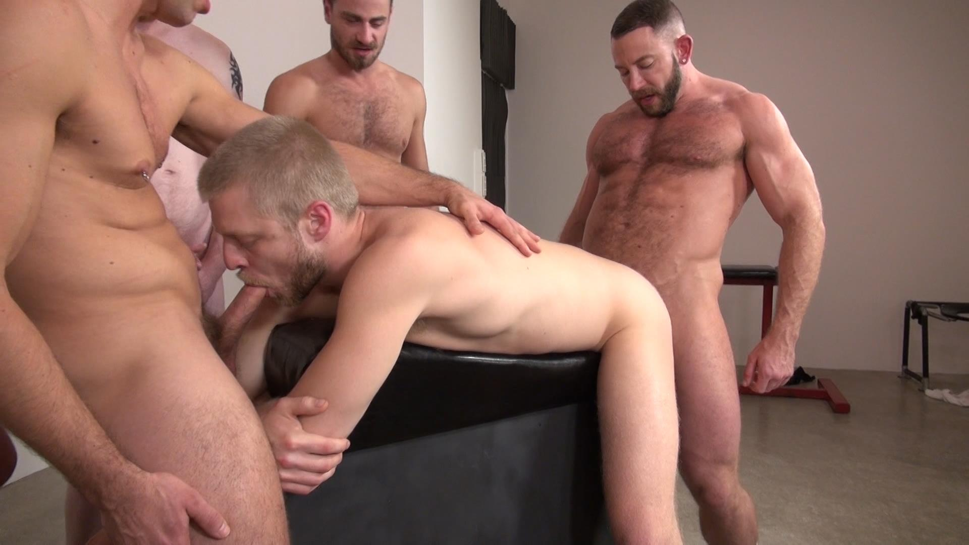Raw and rough gay bareback sex