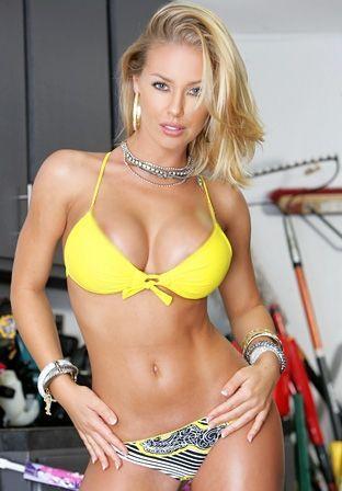 Bikini hot blonde porn stars