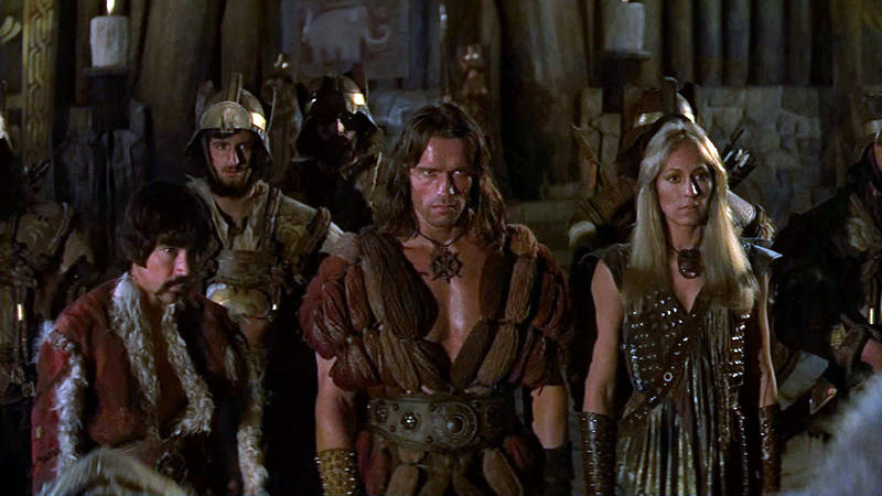 Conan the barbarian nude women