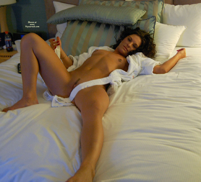 Tan lines nude girls spread legs
