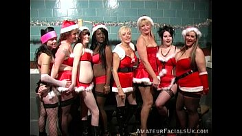 sluts party Christmas amateur