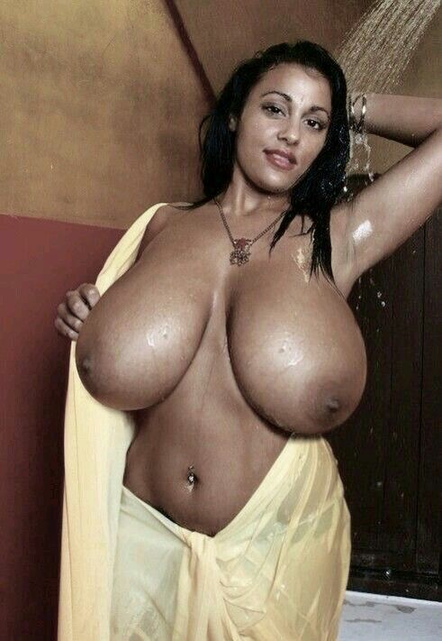 Big black women with huge boobs