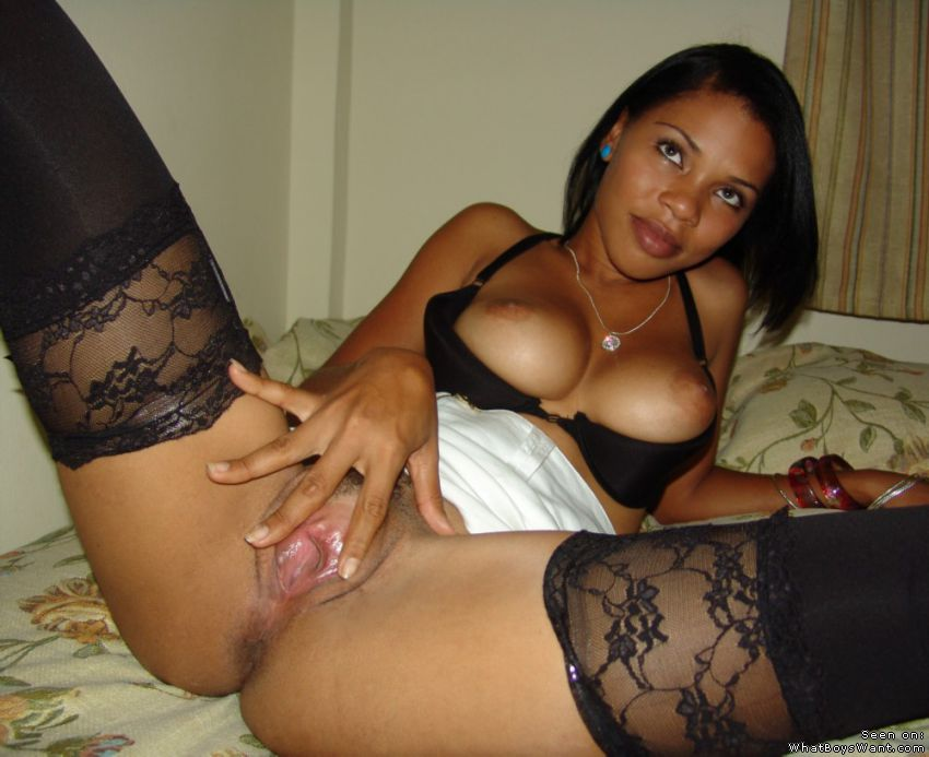 Girl pussy spread wide