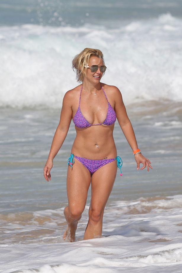 Beach britney spears fakes