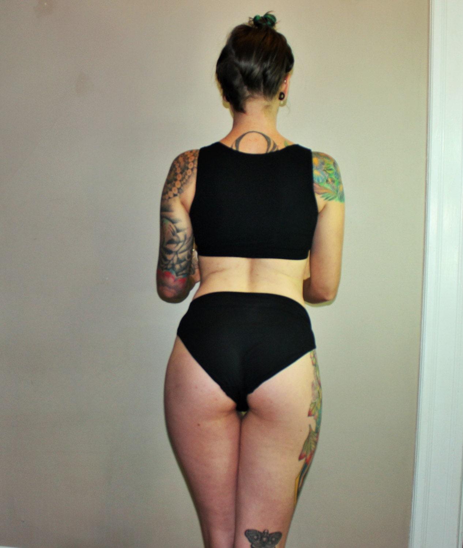 Full hi french cut panties