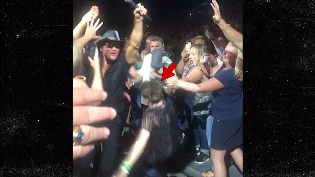Girl groped at concert