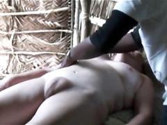 Girls getting nude massage