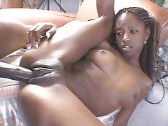 Skinny black girls fucking