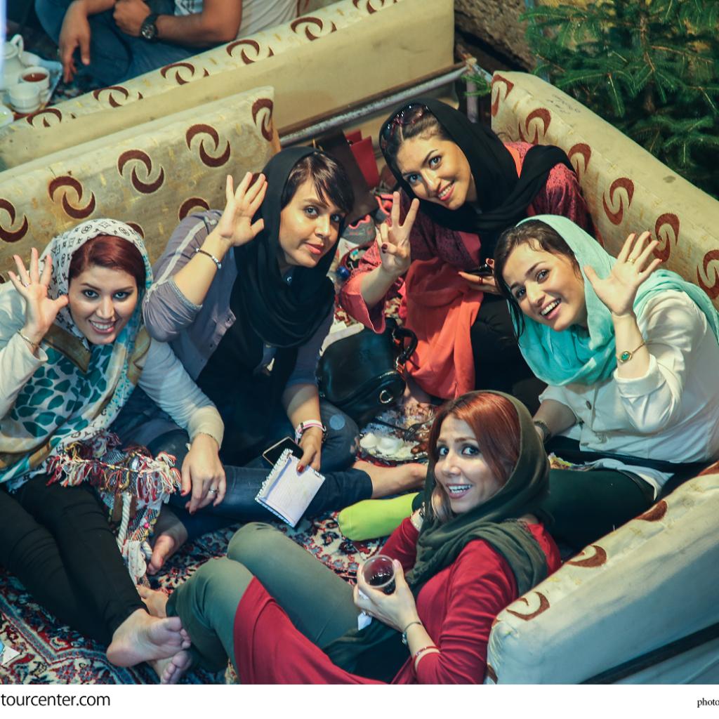 Hot persian girls swimming
