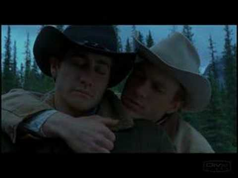 Jake gyllenhaal naked brokeback mountain