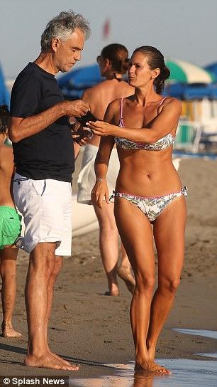 Sexy beach bikini wives