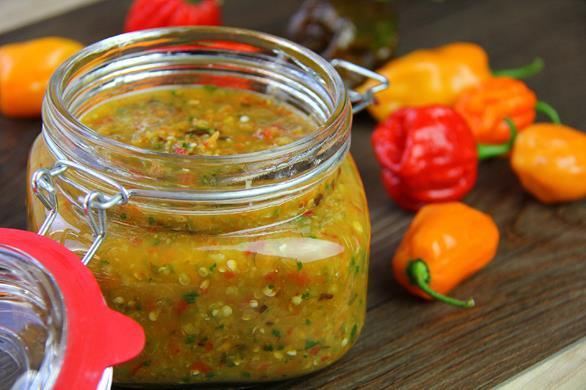 pepper sauce recipe Hot
