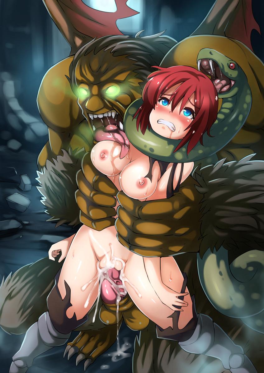 Hentai monster porn