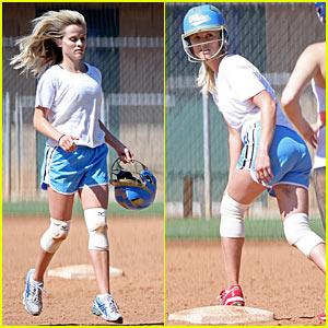 Softball ass girl player