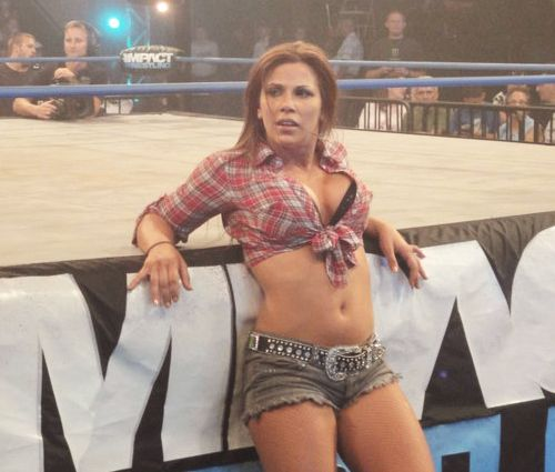 Mickie james naughty