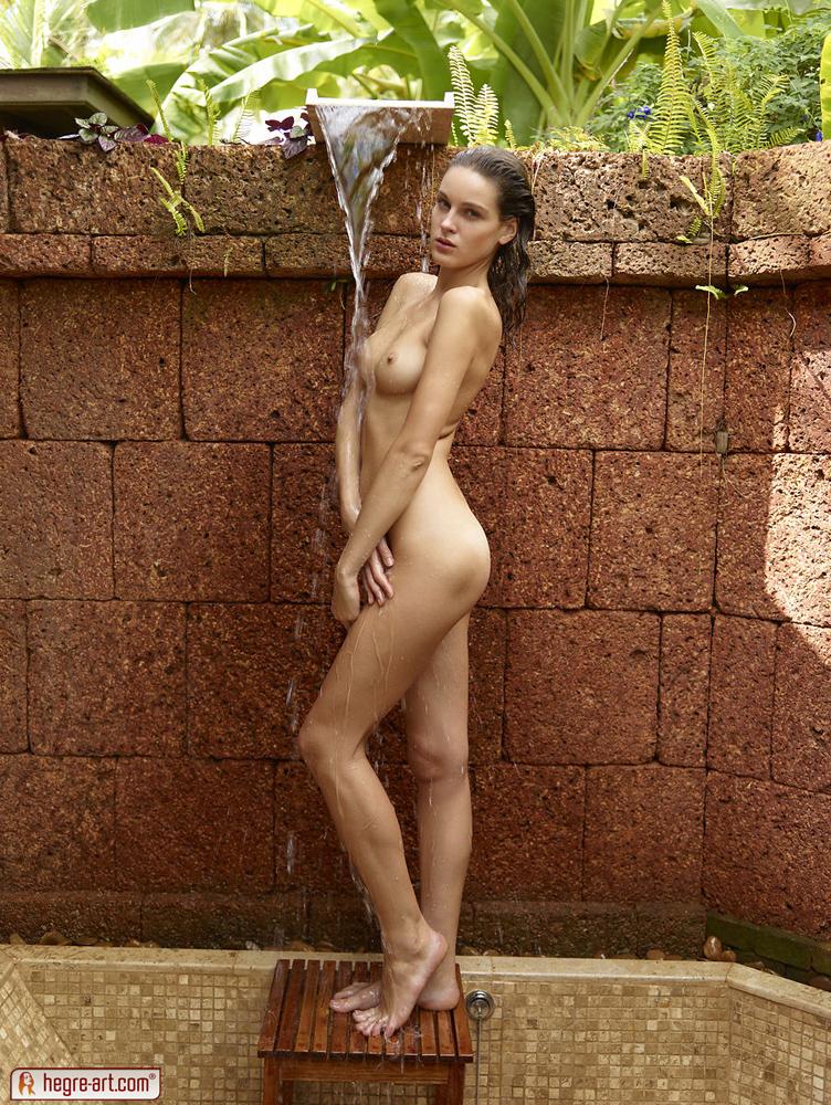 Hegre art nude shower