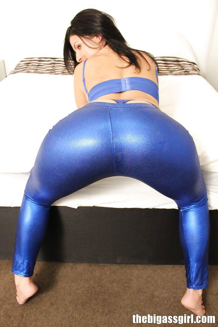 Spandex big ass booty porn