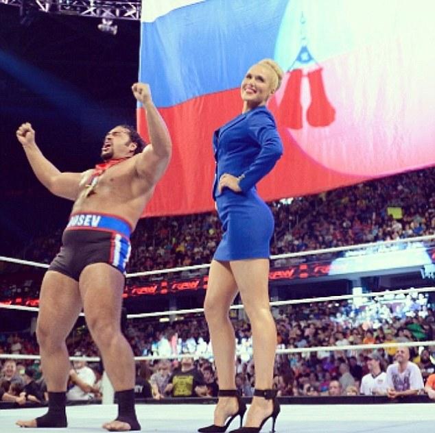 Russian lana wwe
