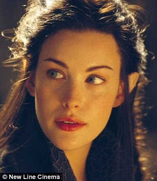 Liv tyler fakes lord of the rings
