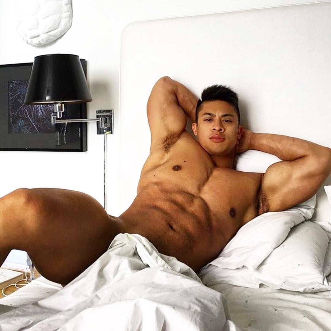 Asian muscle hunks