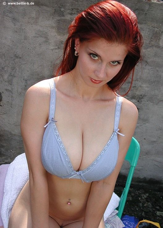 Redhead ballhaus bettie tits natural big