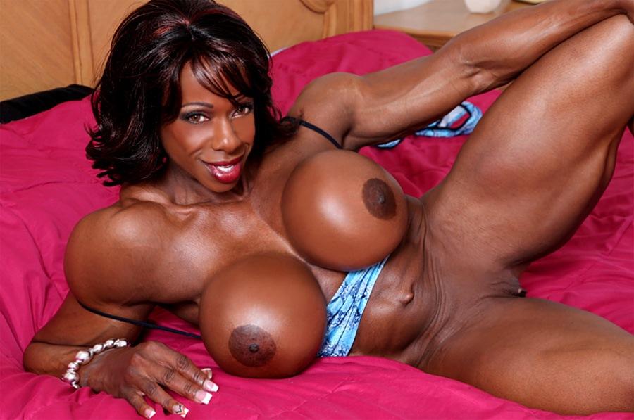 Muscular nude ass woman 11