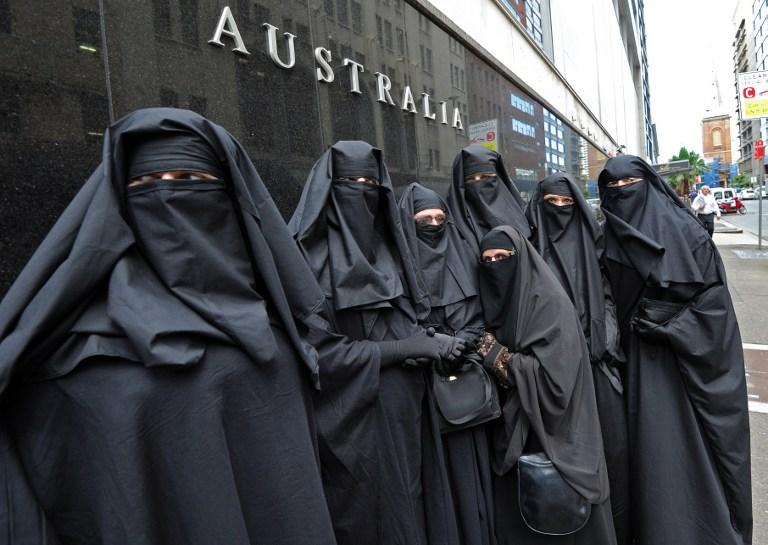 Funny muslim women