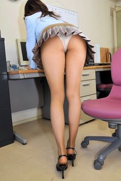 Office girl upskirt