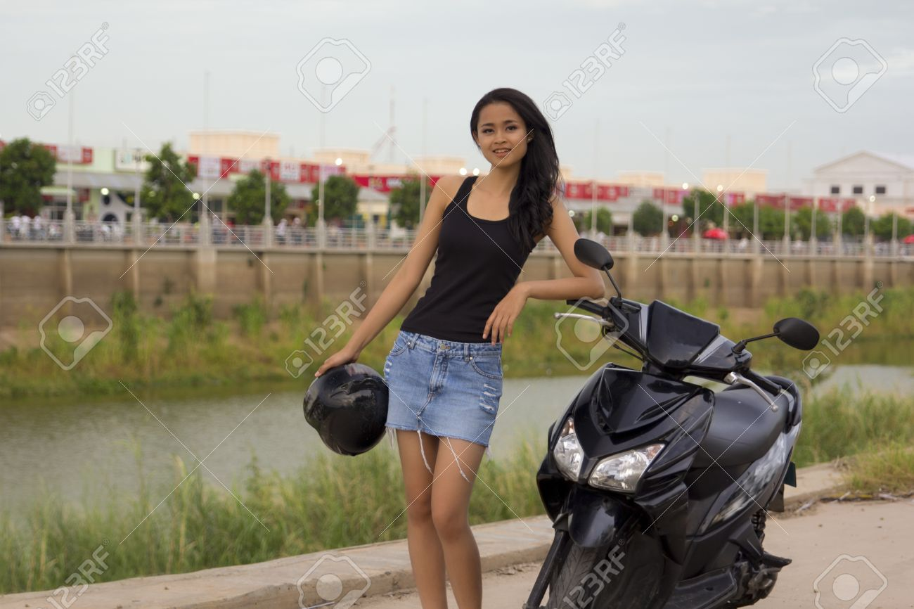 Cambodian hot asian girl