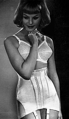 Women vintage girdles sex