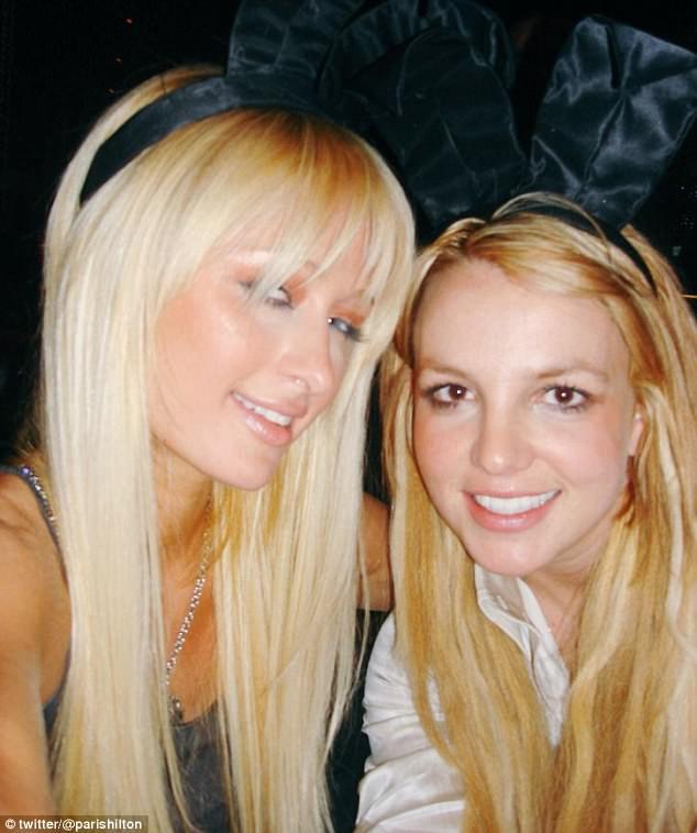 spears hilton Britney paris